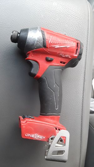 Milwaukee Fuel Brushless 18 Volt Impact Driver for Sale in UPR MARLBORO, MD