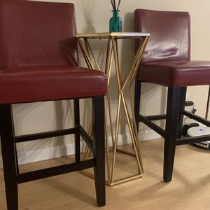 Red Leather Chairs for Sale in Fremont, CA