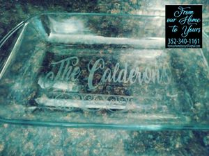 Personalized Pyrex dishes for Sale in Spring Hill, FL