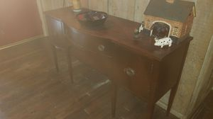 ANTIQUE HALL CABINET. 1930s for Sale in Easley, SC