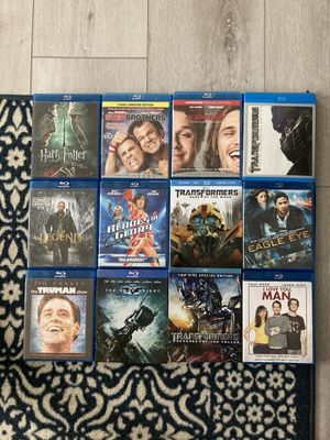 Blu-Ray Movies (Random Assorted) for Sale in Fontana, CA