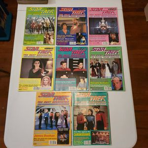 Star Trek The Next Generation Poster Magazine #47, 48, 49, 58, 60, 64, 65, And 68, Lot Of 8, New Unused. for Sale in Fresno, CA