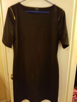 Apt. 9. XL black dress. Gold accents for Sale in Houston, TX