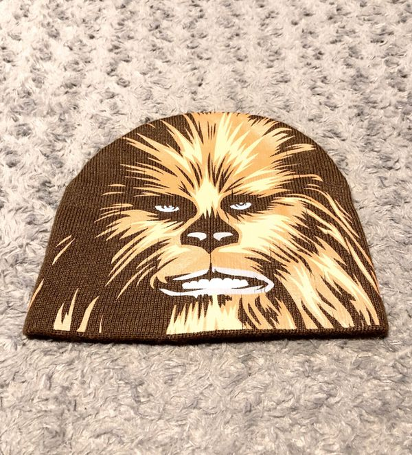 Star Wars Chewbacca brown beanie paid $22 One size. Great condition! No rips, tears, or issues.