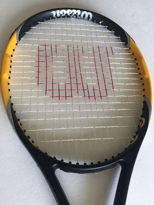 Wilson hyper hammer 6.3 110sq Tennis Racket for Sale in Alexandria, VA