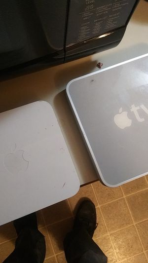 Apple Tv and airport for Sale in Tacoma, WA