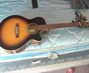 Takamine acoustic electric guitar for Sale in Palm Springs, CA