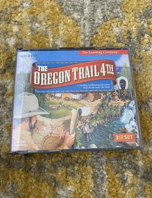 Oregon Trail 4th Edition CD ROM PC Game for Sale in Herriman, UT
