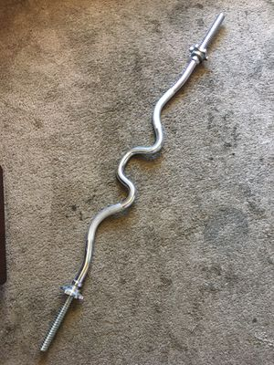 Curl bar steel for Sale in Los Angeles, CA