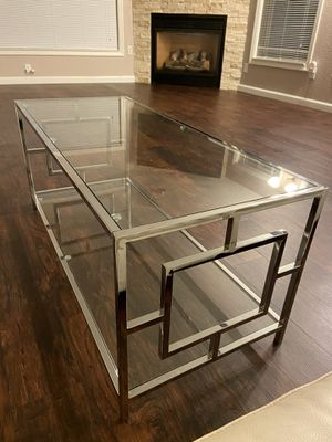 Silver coffee table for Sale in Arnold, MO