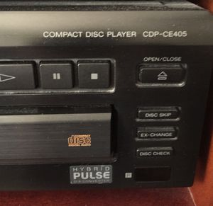Sony five cd carousel player for Sale in Wilmington, DE