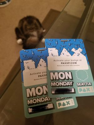 PAX Monday x2 $45/each for Sale in Seattle, WA
