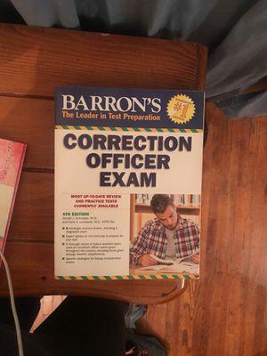 Barrons Correction Officer Exam for Sale in Norwalk, CA