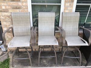 Patio Chairs - patio high chairs - patio furnitures for Sale in Houston, TX