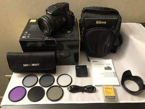 Nikon - COOLPIX P900 16.0-Megapixel Digital Camera - Black for Sale in Sacramento, CA