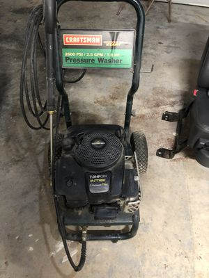 Craftsman pressure washer, needs pump replaced for Sale in Rock Spring, GA