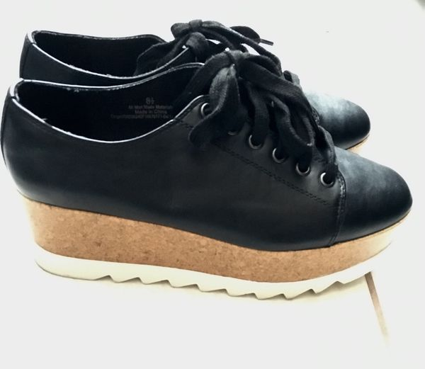 b2526391814 Women s Juniper Platform Oxfords - Mossimo Supply Co. Black 8.5 for ...