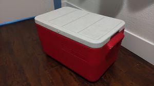 Red Retro Coleman Cooler for Sale in Phoenix, AZ