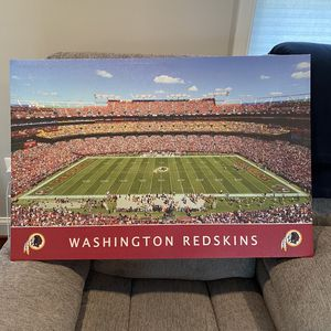 Washington Redskins Football Field Canvas Picture for Sale in Centreville, VA