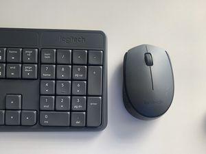 Wireless Logitech Mouse and Keyboard via 1 USB for Sale in Brandon, FL