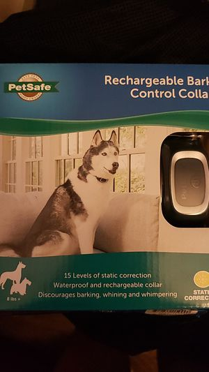 Rechargeable Bark Control Collar for Sale in Queens, NY