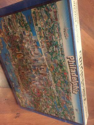 NEW city of Philadelphia puzzle - 504 pieces. Hard puzzle! for Sale in Buckeye, AZ