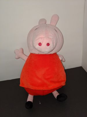 Peppa pig neck rest n stuffed animal in 1 for Sale in Tacoma, WA
