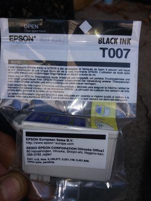 Epson black ink cartridge for Sale in Suisun City, CA