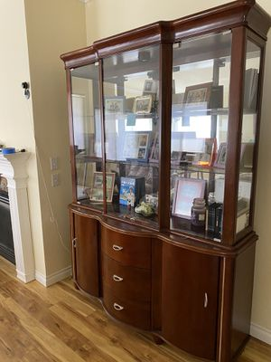 Cherry Dining room China Cabinet for Sale in Redmond, WA