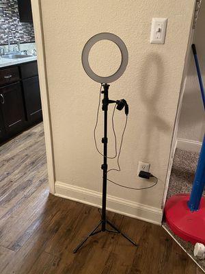 Vlogger, blogger, (social influencer) led light. for Sale in Savannah, GA