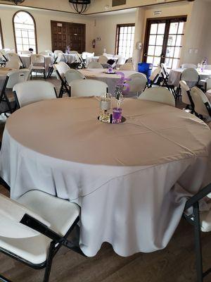 Light grey table cloths for Sale in San Bernardino, CA