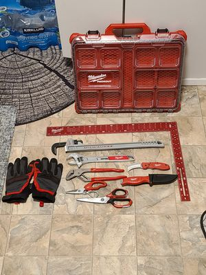 Nice Milwaukee tool lot w/ low profile pack out case for Sale in Lacey, WA