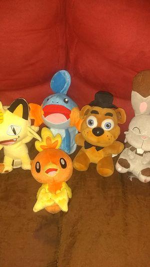 Pokemon plushies for Sale in Pasadena, TX