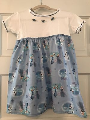 Christmas Frozen Movie dress. 3T. Adorable OOAK Handmade. for Sale in Commerce City, CO