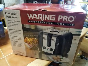 Waring Pro Cool Touch Deep Fryer BRAND NEW! for Sale in Gaithersburg, MD