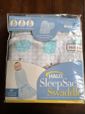 Halo sleep sack swaddle- new for Sale in Fircrest, WA
