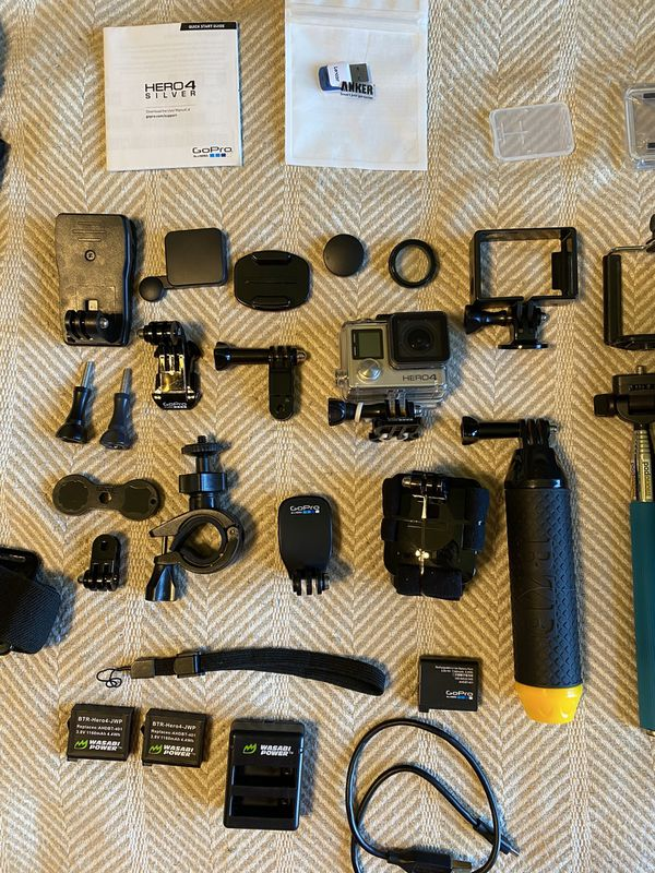 GoPro Hero 4 + Accessories