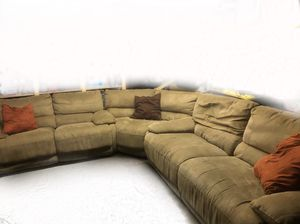 Tan reclinable couches for Sale in Los Angeles, CA