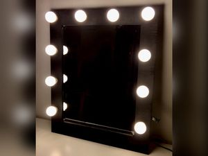 Black vanity mirror for Sale in Queens, NY