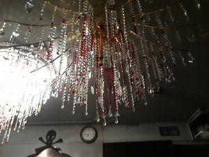 Large crystal chandelier for Sale in Oakland, CA