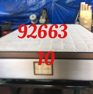 "12"" thick foam Encase 1 Sided Pillow Top mattress. Not rebuild. All new materials. Price includes tax and local delivery. Cash only. Twin Mattre for Sale in Newport Beach, CA"