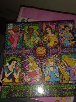 Disney Princess Puzzle for Sale in Waco,  TX
