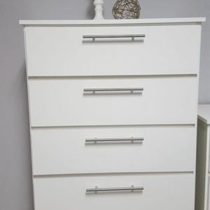 Chest 5 Drawers (BRAND NEW) GAVETERO BLACK OR WHITE for Sale in Miami, FL