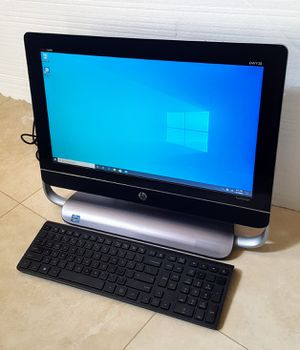 HP TouchSmart Envy 20 AIO (All-in-One Computer)-Touchscreen, Intel Core i3 CPU ,3.0 USB,BeatsAudio,Webcam, Bluetooth, Windows 10-64bit Latest Version for Sale in San Diego, CA