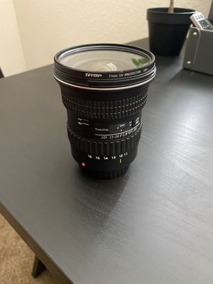Tokina 11-16mm 2.8 for canon EF for Sale in Yuba City, CA