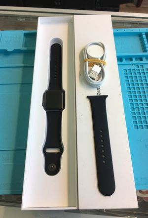Apple Watch Series 3 38mm Gray Al Black Band GPS for Sale in Seattle, WA