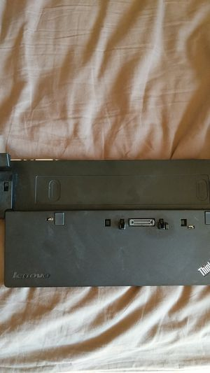 Lenovo Thinkpad Ultra Dock Type 40A2 and 2 AC adapters for Sale in Oakland, CA