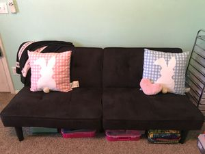 MAKE OFFERS//Black futon for Sale in Sun City, AZ