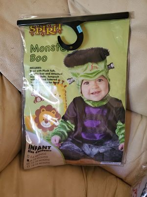 Like New Infant Frankenstein Halloween Costume for Sale in Ballwin, MO