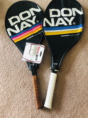 I pair of tenis racket, overgrip as gift for Sale in Columbus, OH